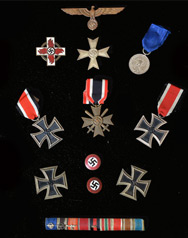 German Flags, Armbands, and Medals
